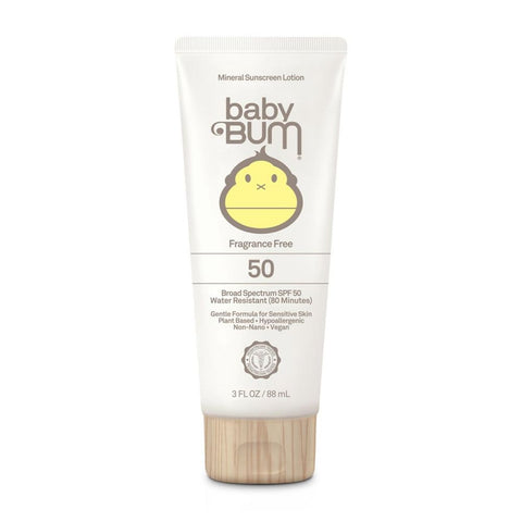 Sun Bum Baby Bum SPF 50 Mineral Sunscreen Lotion Fragrance Free - 3oz