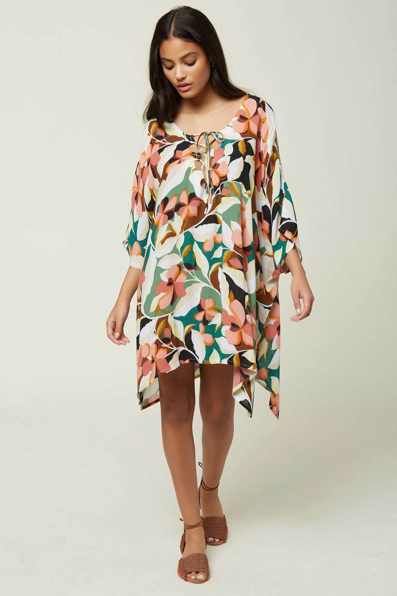 O'Neill Tamra Cover-Up - Calla Black w/ Gold
