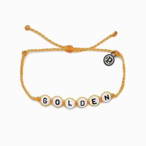 Pura Vida Golden Word Bracelet