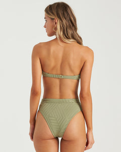 Billabong Peeky Days Square Wire Bikini Top