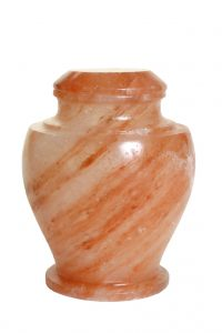 Natural Rock Salt Biodegradable Cremation Urn for Ashes