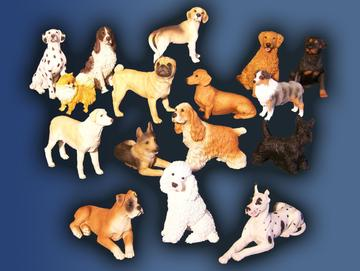Dog Figurines Only