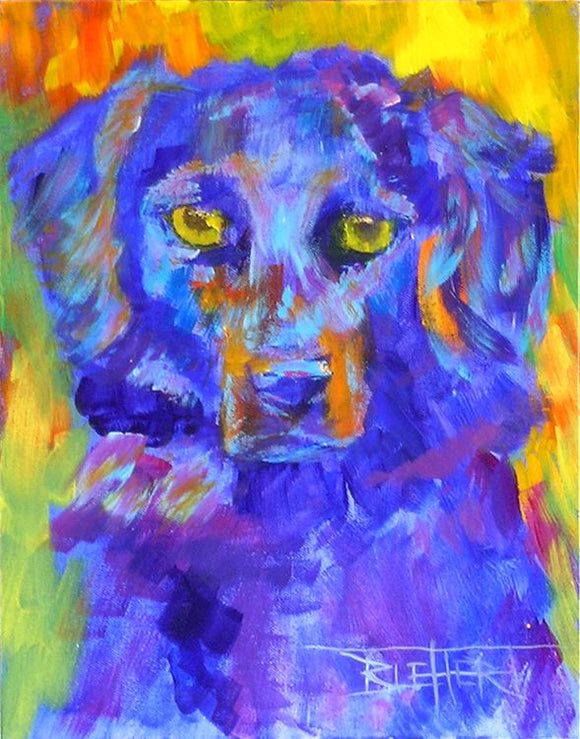 Stunning Custom Pet Portrait by Robert Blehert