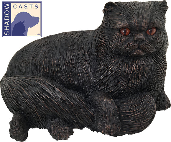 Shadow Cast Persian Cat Pet Urn