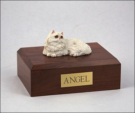 Cat Persian White Figurine Cat Pet Urn Ever My Pet