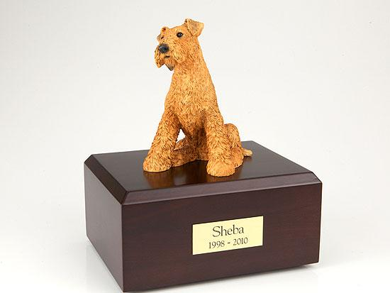Airedale Terrier Figurine Urn