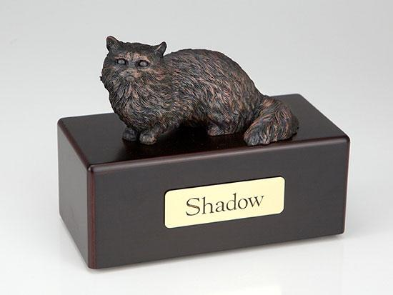 Angora Cat Economy Bronze Series Cat Pet Urn