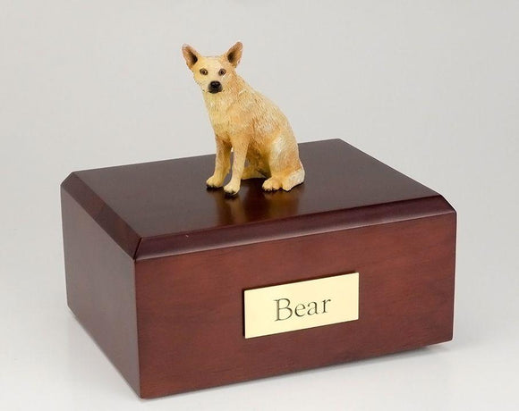 Australian Cattle Dog ( Red) Figurine Urn