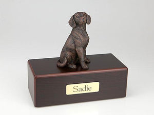 Beagle Economy Bronze Series Dog Pet Urn