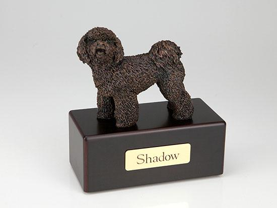 Bichon Frise Economy Bronze Series Dog Pet Urn