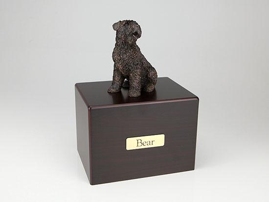 Bouvier Economy Bronze Series Dog Pet Urn