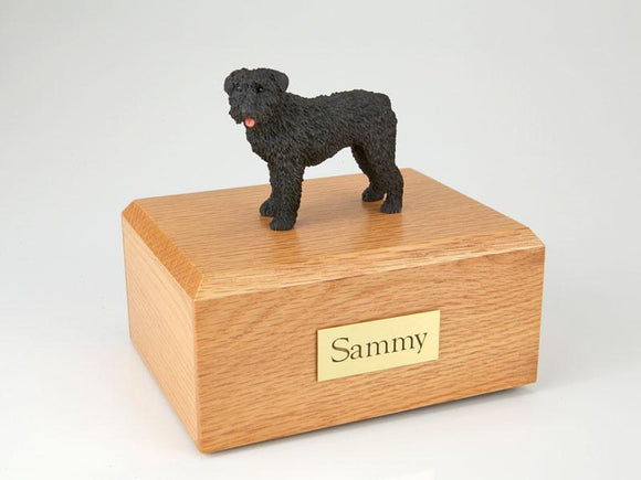 Bouvier Figurine Dog Urn