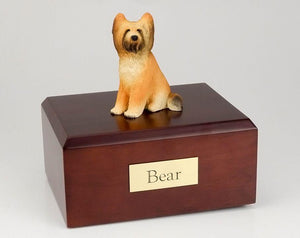 Briard Dog Figurine Dog Pet Urn