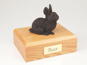 Bunny Rabbit Bronze Figurine Pet Cremation Urn