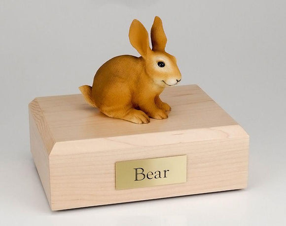 Rabbit (Brown) Bunny Figurine Urn