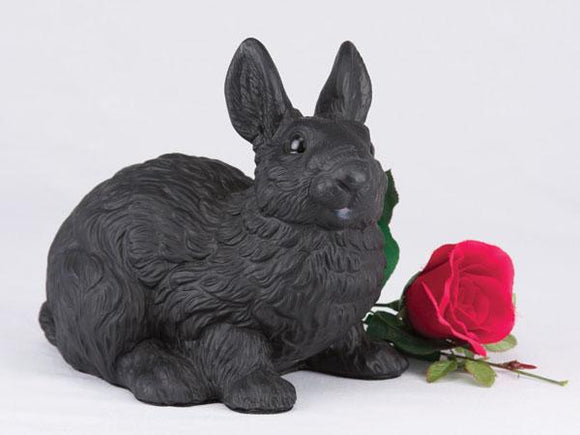Companion Black Bunny Rabbit Pet Urn