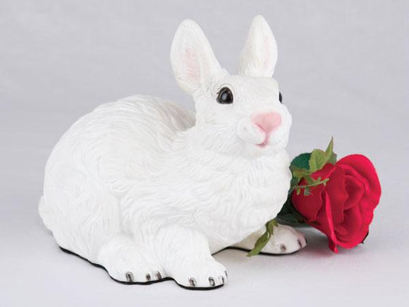 Companion White Bunny Rabbit Pet Urn