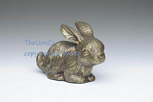 Bunny Rabbit Pet Urn Bronze Finish