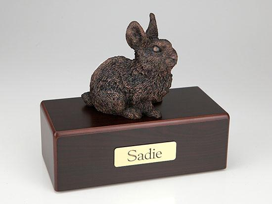 Rabbit Economy Bronze Series Bunny Cremation Urn