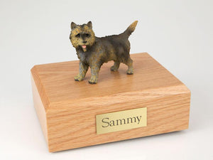 Cairn Terrier (Brindle) Dog Figurine Urn