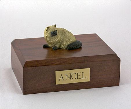 Cat Himalayan Brown Cat Figurine Urn Ever My Pet