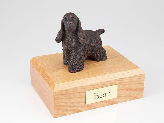 Cocker Spaniel Bronze Dog Figurine Pet Cremation Urn Ever My Pet