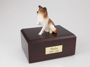 Collie Paw Up Dog Figurine Dog Cremation Urn Ever My Pet