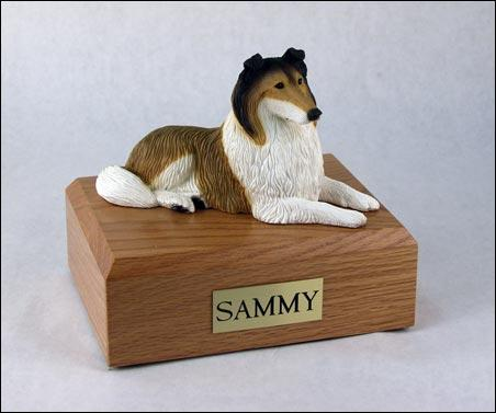 Collie (Sable) Figurine Dog Urn