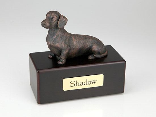 Dachshund Economy Bronze Series Dog Pet Urn