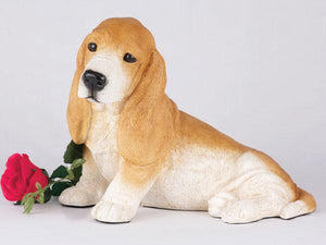 Companion Basset Hound Dog Pet Urn
