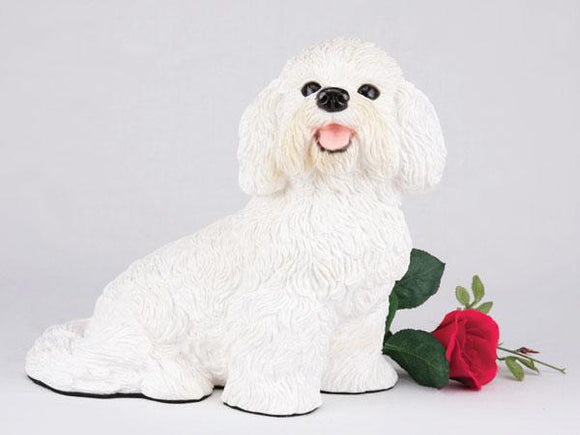 Companion Bichon Frise Dog Pet Urn