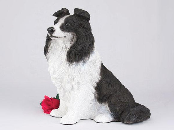 Companion Border Collie Dog Pet Urn