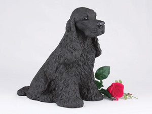 Companion Cocker Spaniel Black Dog Pet Urn