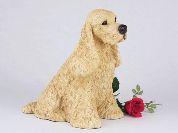 Companion Cocker Spaniel Buff Dog Pet Urn