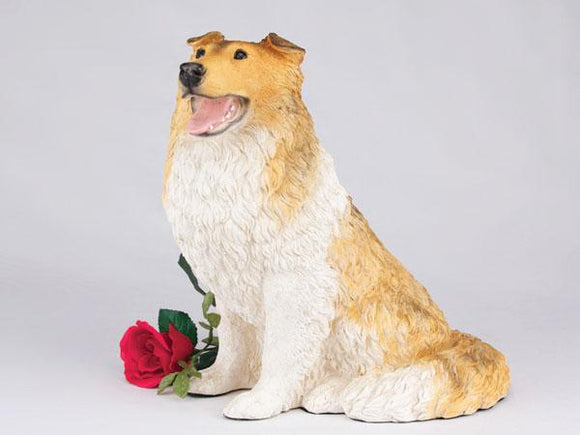 Companion Collie Tri Color Dog Pet Urn