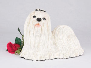 Companion Maltese Dog Pet Urn