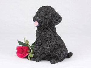 Companion Poodle Miniature Black Dog Pet Urn