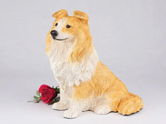 Companion Sheltie Dog Pet Urn
