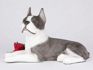 Companion Boston Terrier Dog Pet Urn
