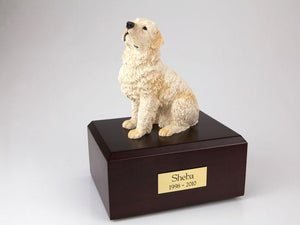 Flanders Dog Figurine Urn