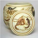 Forever and Ever Cat Cremation Pet Urn