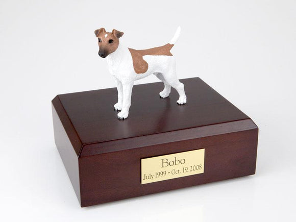 Fox Terrier Smooth (Brown & White) Figurine Dog Urn Ever My Pet