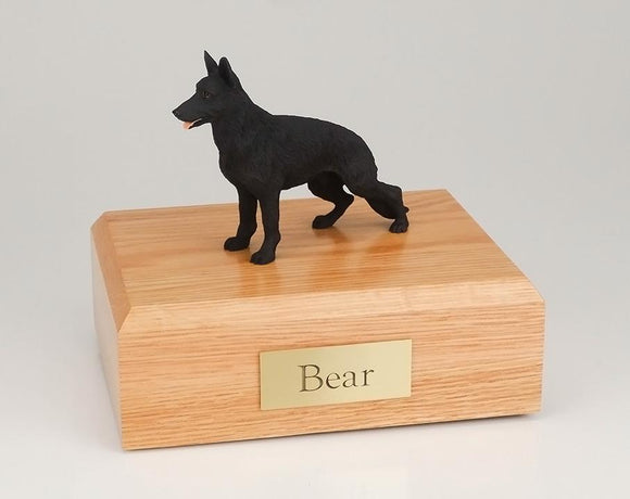 German Shepherd (Black) Figurine Dog Urn Ever My Pet
