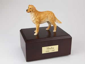 Golden Retriever Standing Figurine Dog Urn Ever My Pet