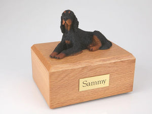 Gordon Setter Dog Figurine Dog Urn Ever My Pet