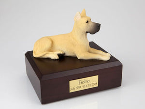 Great Dane Figurine Dog Pet Urn Ever My Pet