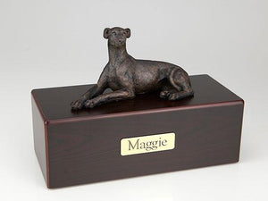 Greyhound Whippet Economy Bronze Series Dog Pet Urn