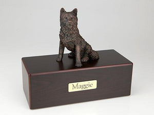 Husky Economy Bronze Series Dog Pet Urn