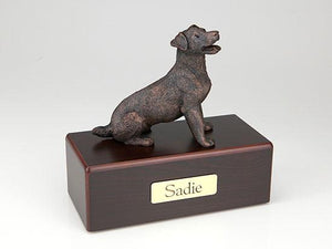 Jack Russell Terrier Economy Bronze Series Dog Pet Urn