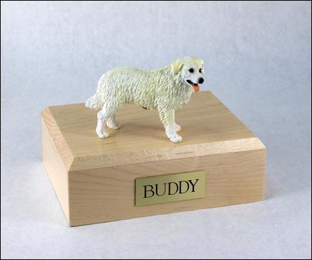 Kuvasz  Dog Figurine Dog Urn